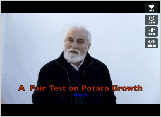 A Fair Test on Potato Growth